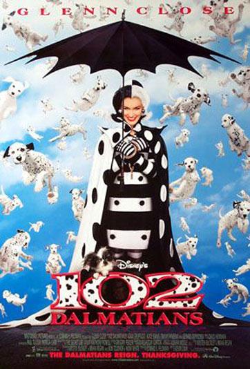 102 Dalmatians Poster #3