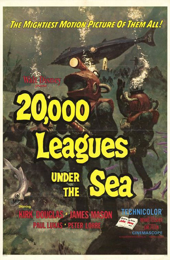 20,000 Leagues Under the Sea Poster #2