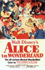 Alice in Wonderland Poster #2