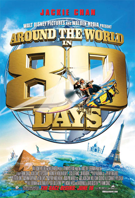 Around the World in 80 Days Poster #1