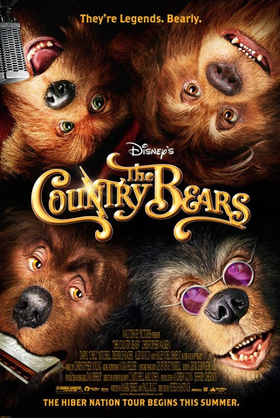 The Country Bears Poster