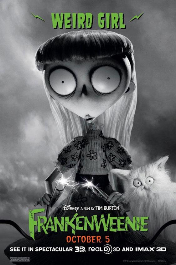 Frankenweenie Poster #4