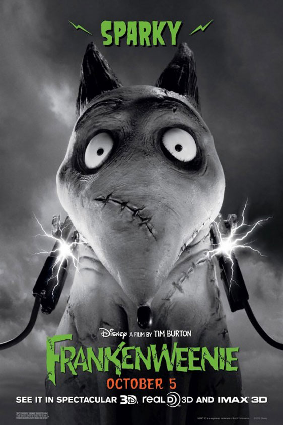 Frankenweenie Poster #7