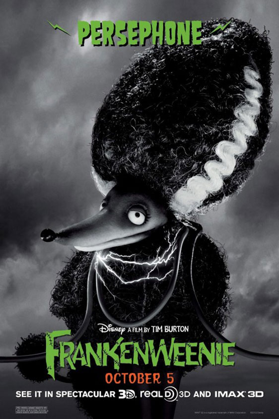 Frankenweenie Poster #9