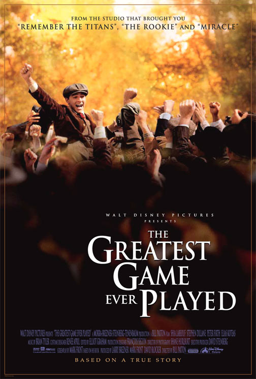 The Greatest Game Ever Played Poster #1