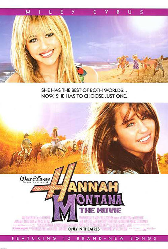 Hannah Montana The Movie Poster #1