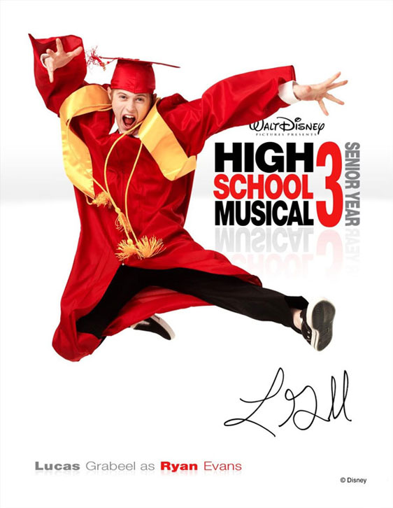High School Musical 3: Senior Year Poster #4