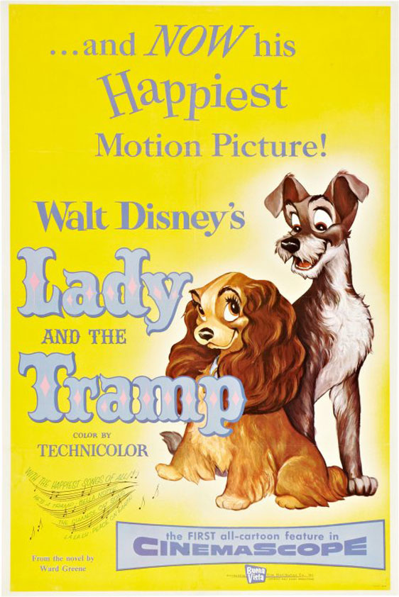 Lady and the Tramp Poster #2