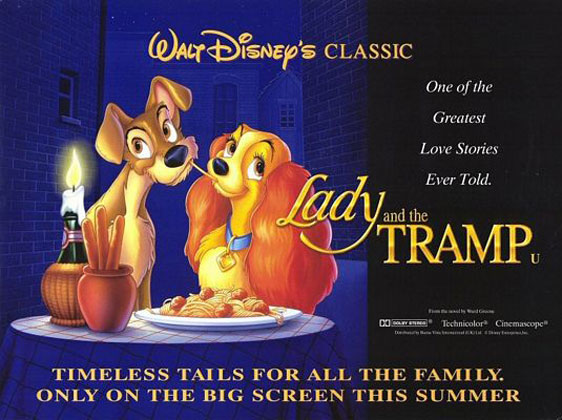 Lady and the Tramp Poster #7