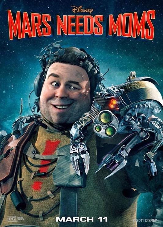 Mars Needs Moms Poster #2