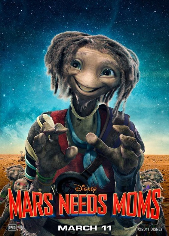 Mars Needs Moms Poster #4