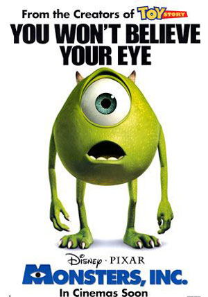 Monsters, Inc. Poster #3