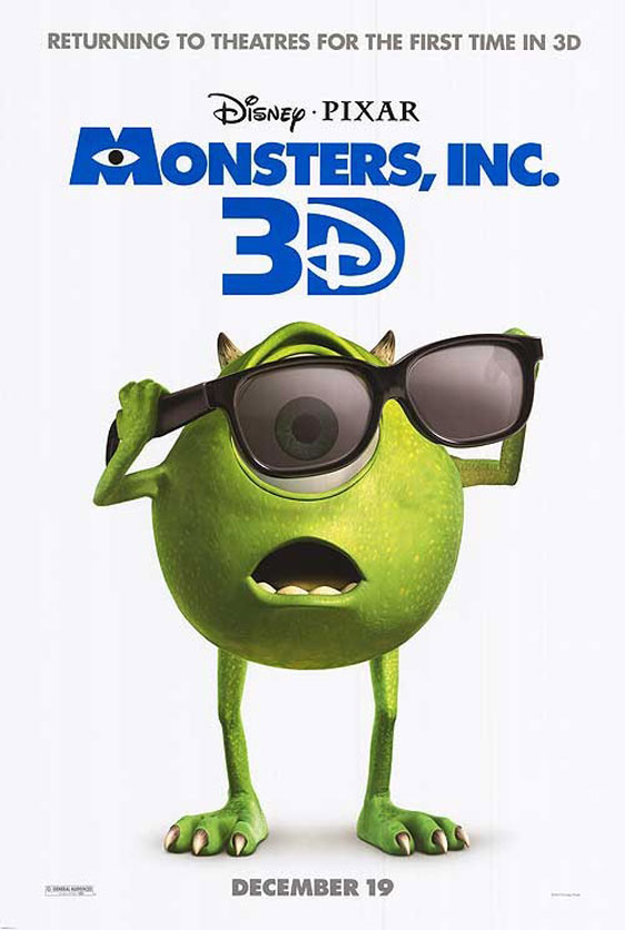 Monsters, Inc. Poster #5