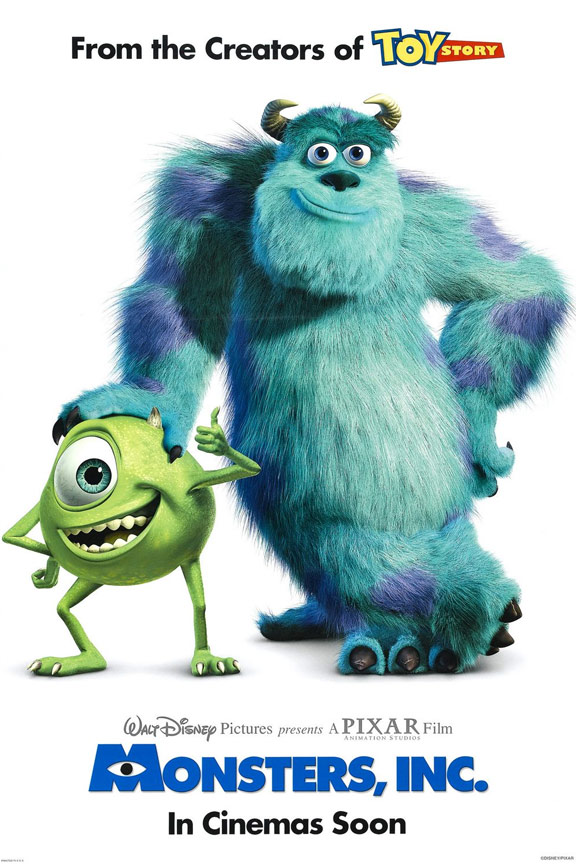 Monsters, Inc. Poster #1
