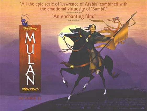 Mulan Poster #3