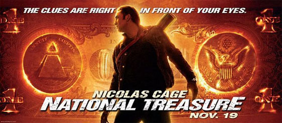 National Treasure Poster #2
