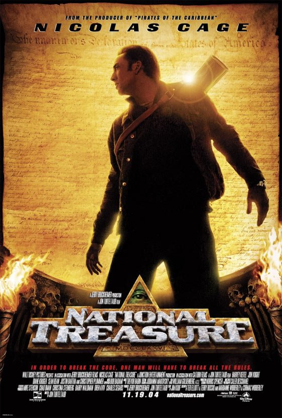 National Treasure Poster