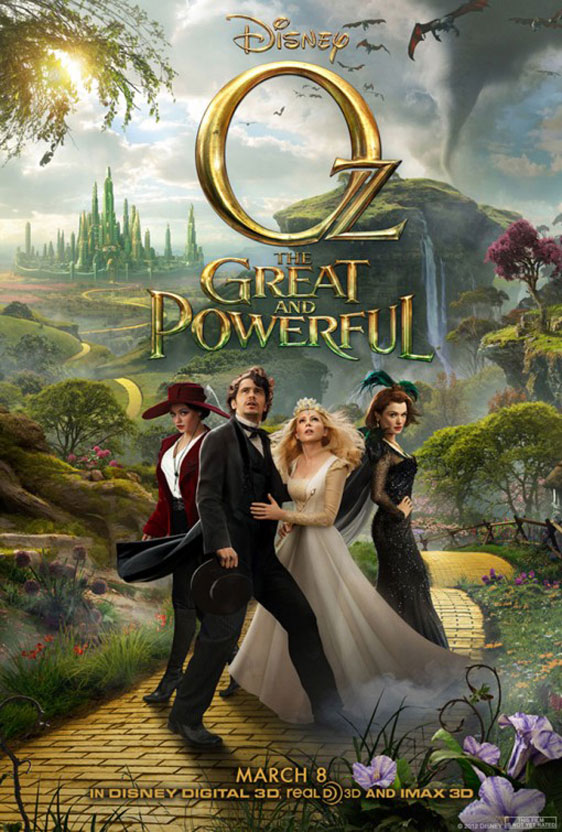 Oz The Great and Powerful Poster #2