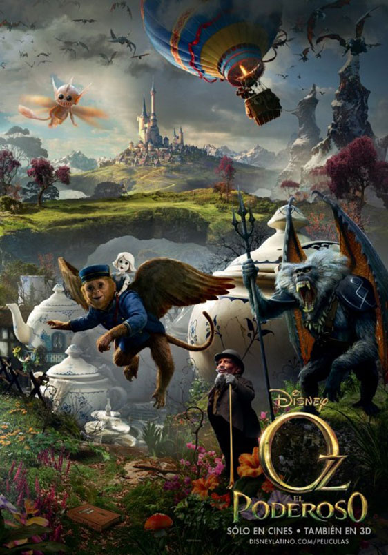 Oz The Great and Powerful Poster #4