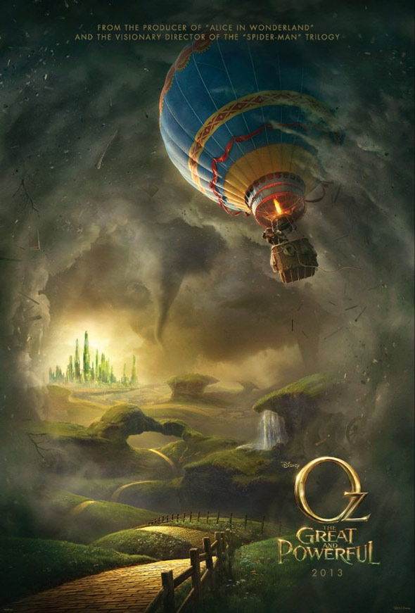 Oz The Great and Powerful Poster #1