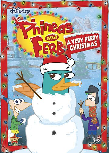 Phineas & Ferb: Very Perry Christmas Poster