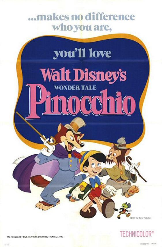 Pinocchio Poster #2