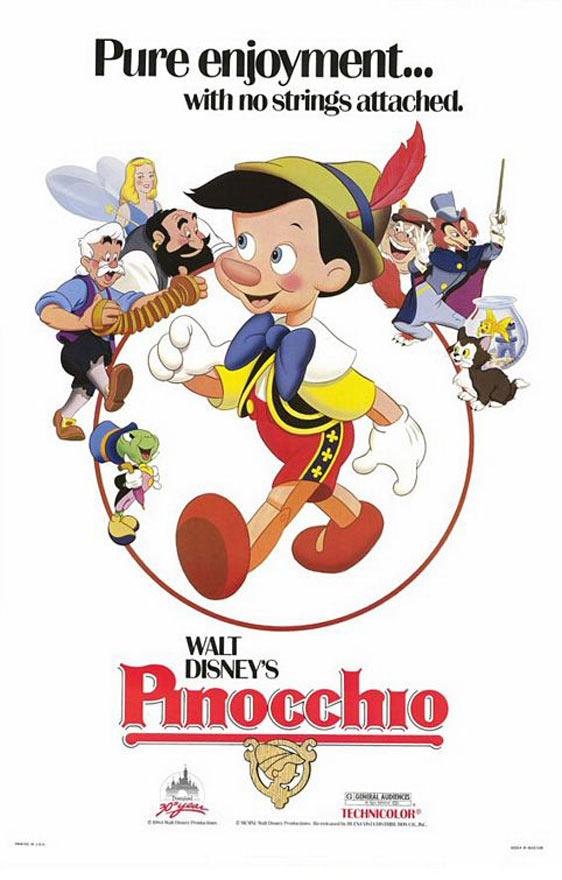 Pinocchio Poster #3