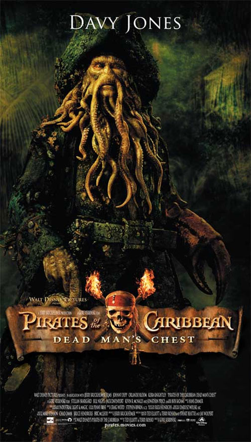 Pirates of the Caribbean: Dead Man's Chest Poster #3