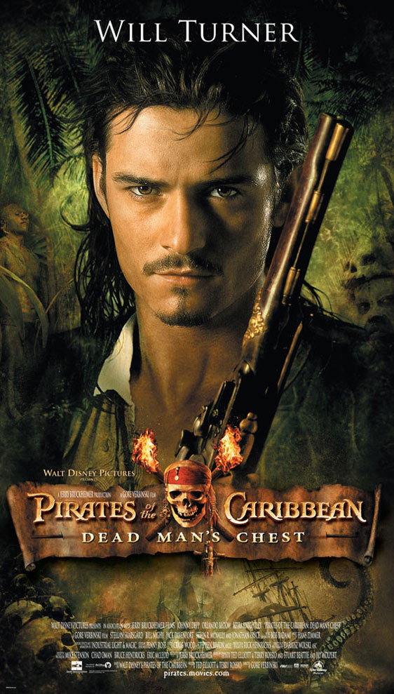 Pirates of the Caribbean: Dead Man's Chest Poster #4