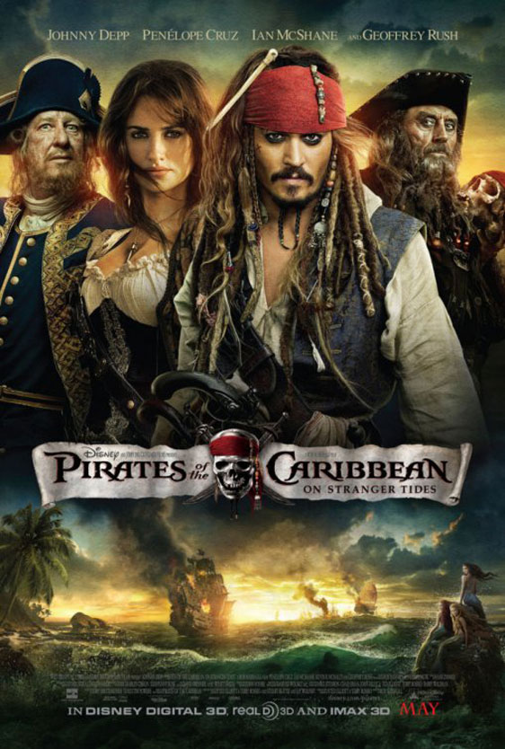 Pirates of the Caribbean: On Stranger Tides Poster #10