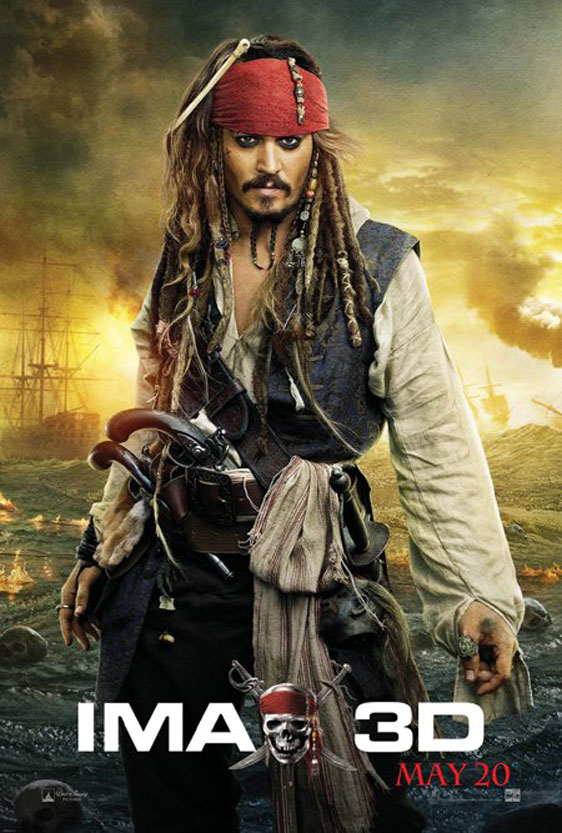 Pirates of the Caribbean: On Stranger Tides Poster #11