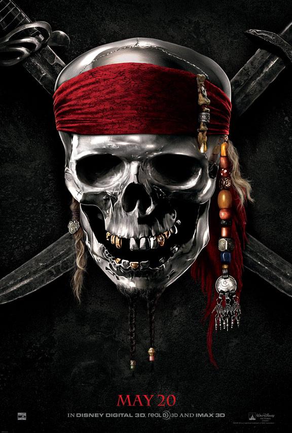 Pirates of the Caribbean: On Stranger Tides Poster #2