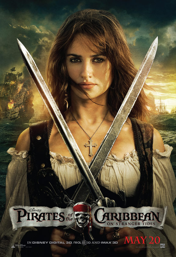 Pirates of the Caribbean: On Stranger Tides Poster #5