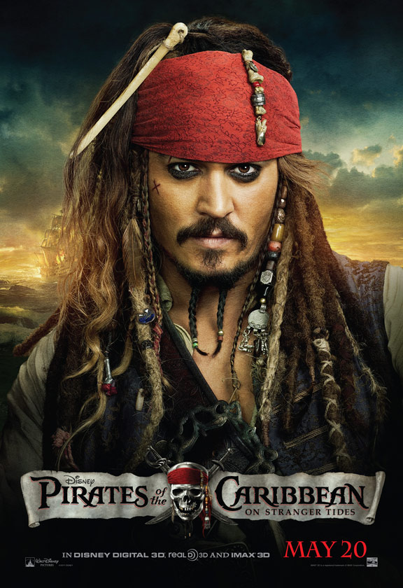 Pirates of the Caribbean: On Stranger Tides Poster #6