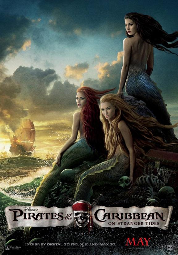 Pirates of the Caribbean: On Stranger Tides Poster #9