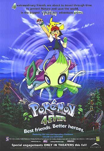 Pokémon 4Ever Poster #1