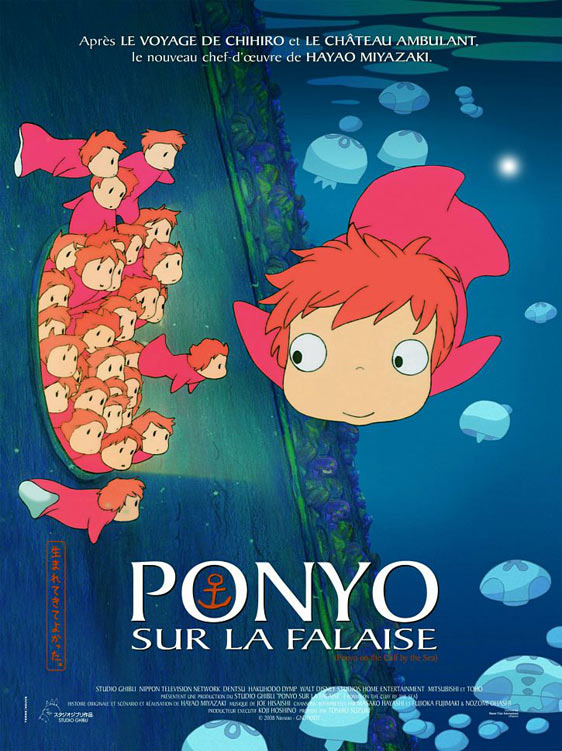 Ponyo (2009) Poster #1 - Trailer Addict
