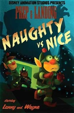 Prep & Landing: Naughty vs. Nice Poster