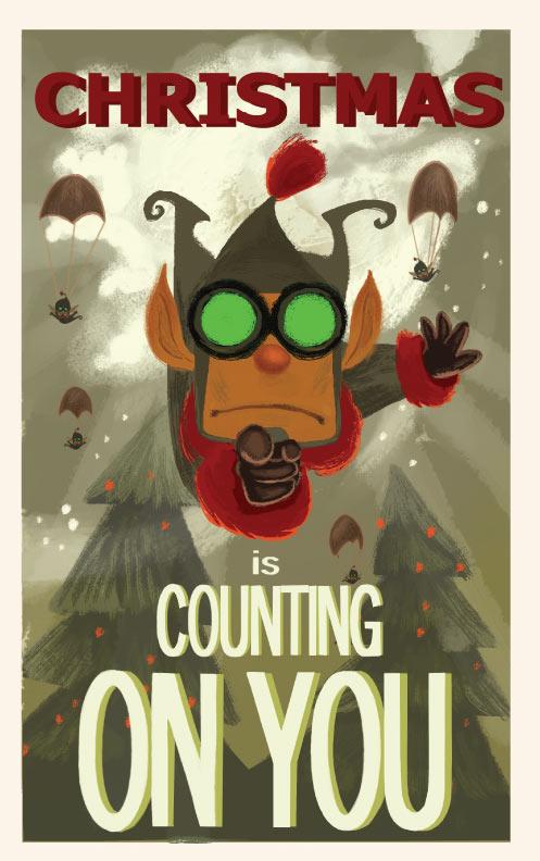 Prep & Landing Poster #8