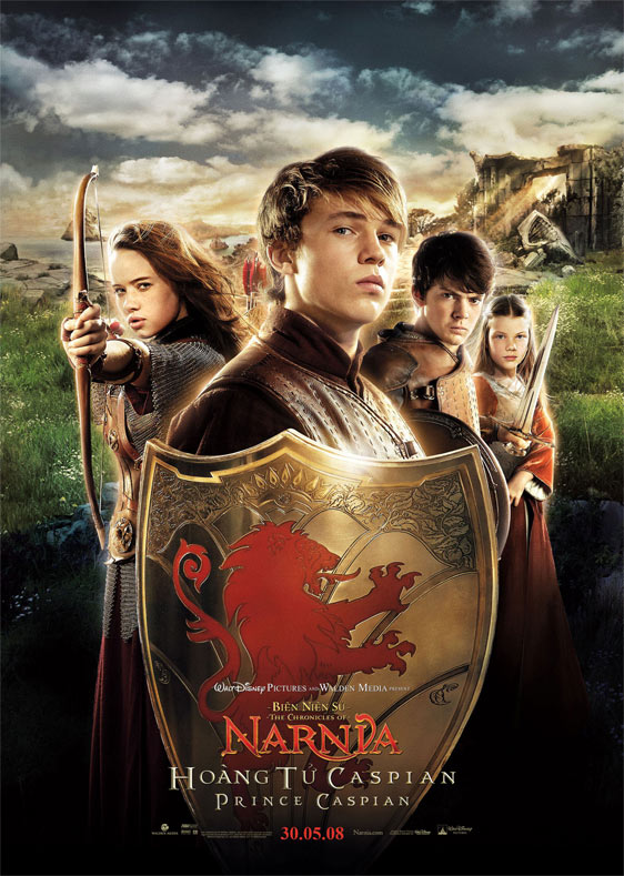 The Chronicles Of Narnia Prince Caspian 2008 Poster 5