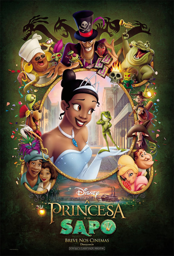 The Princess and the Frog Poster #2