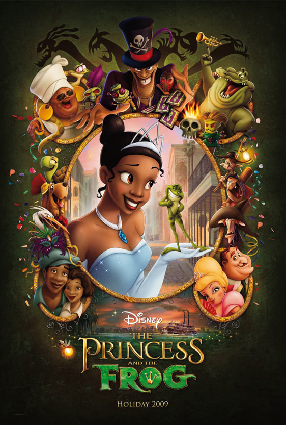The Princess and the Frog Poster #3