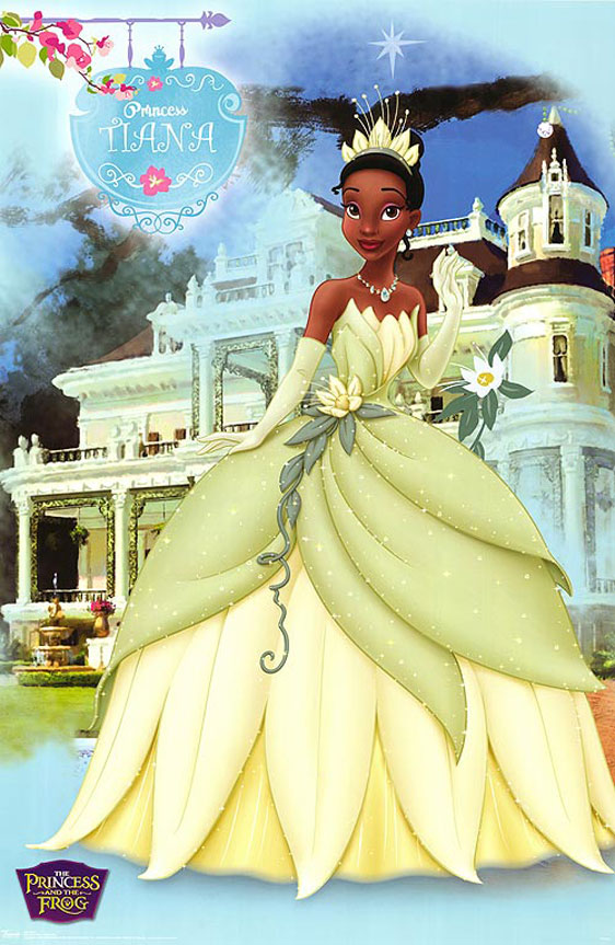 The Princess and the Frog Poster #6