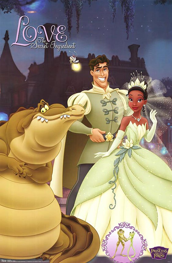 The Princess and the Frog Poster #7