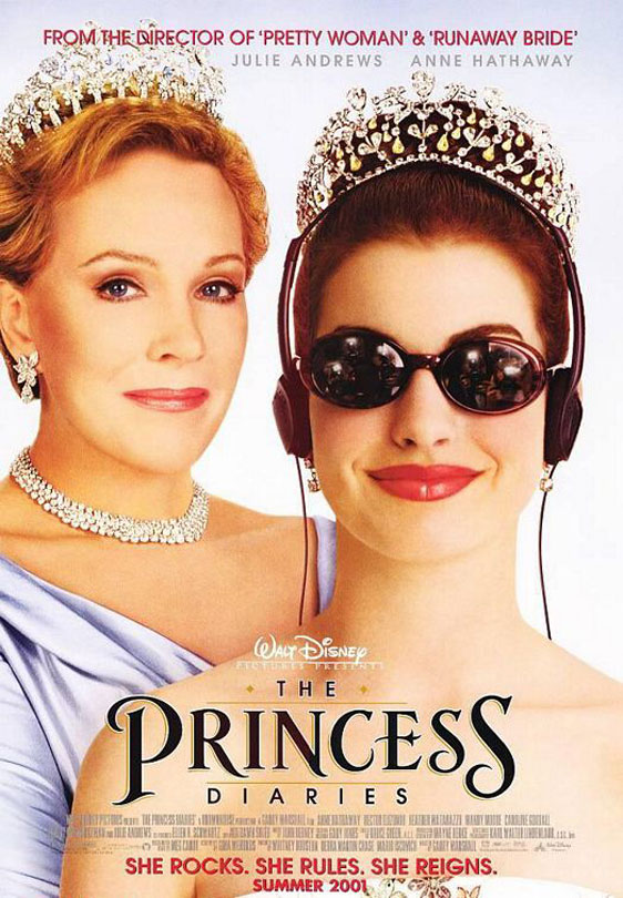 The Princess Diaries Poster #1