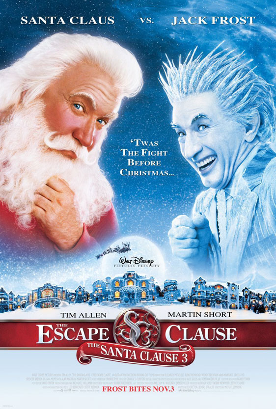 The Santa Clause 3: The Escape Clause Poster #1