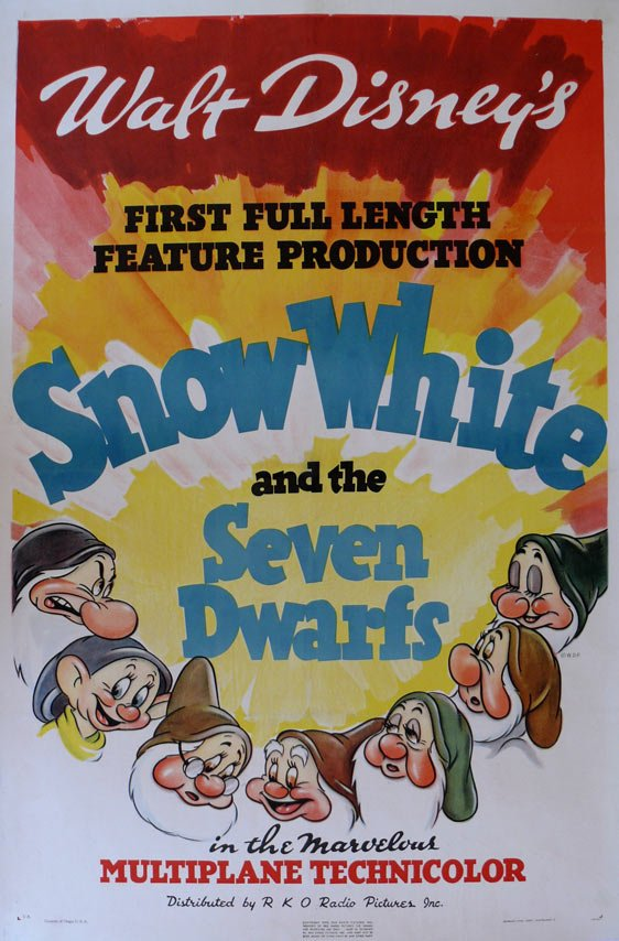 Snow White and the Seven Dwarfs Poster #6