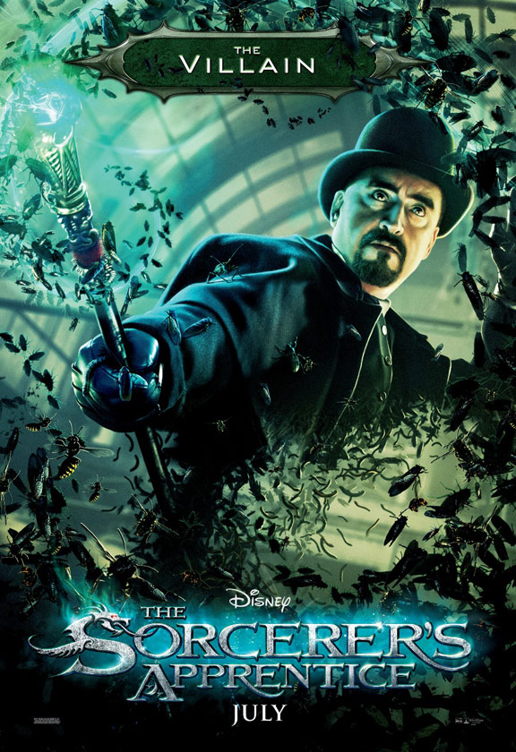 The Sorcerer's Apprentice Poster #2