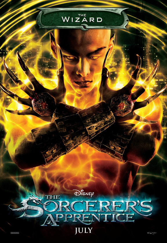 The Sorcerer's Apprentice Poster #3