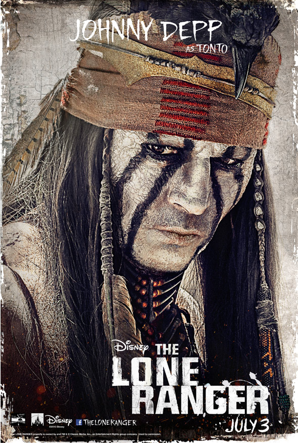 The Lone Ranger Poster #4